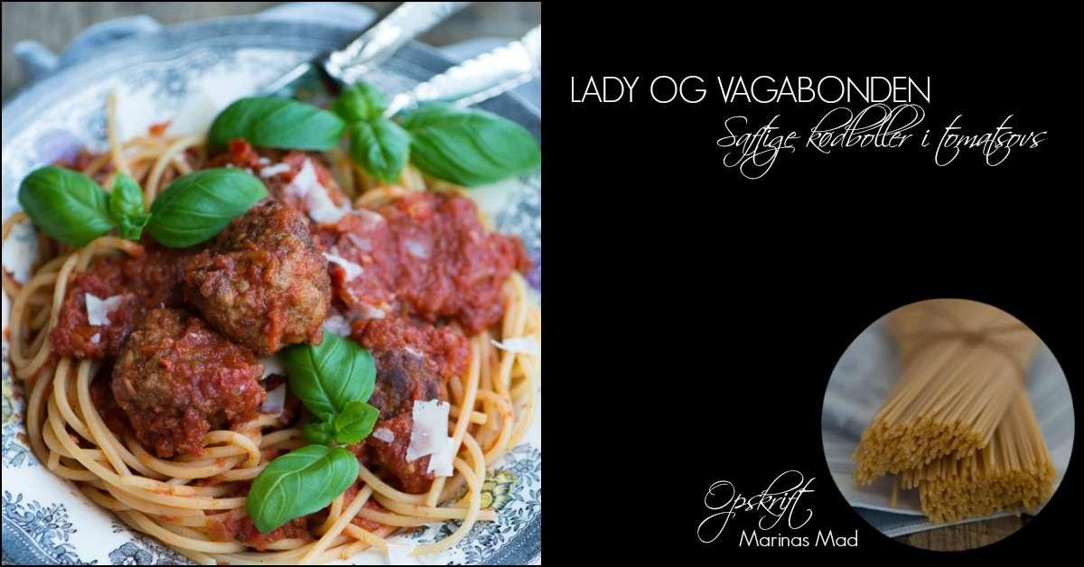 lady vagabonden spaghetti