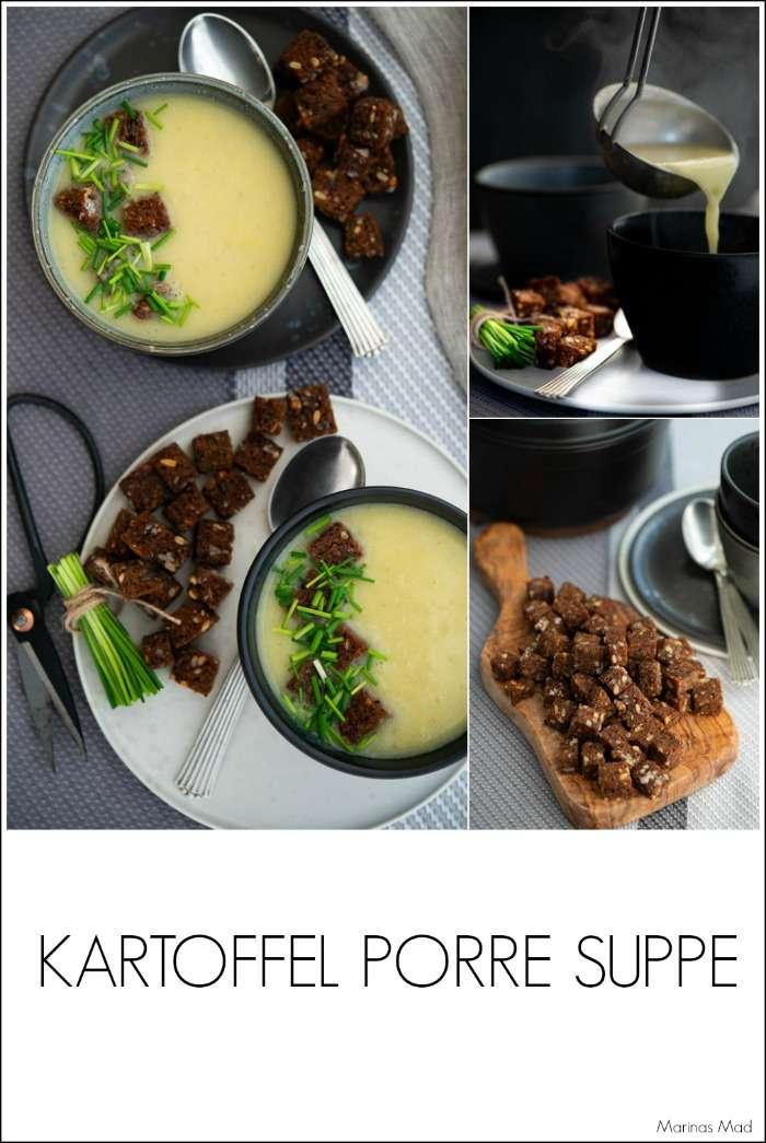 Opskrift På Kartoffelsuppe Med Porre Marinas Mad